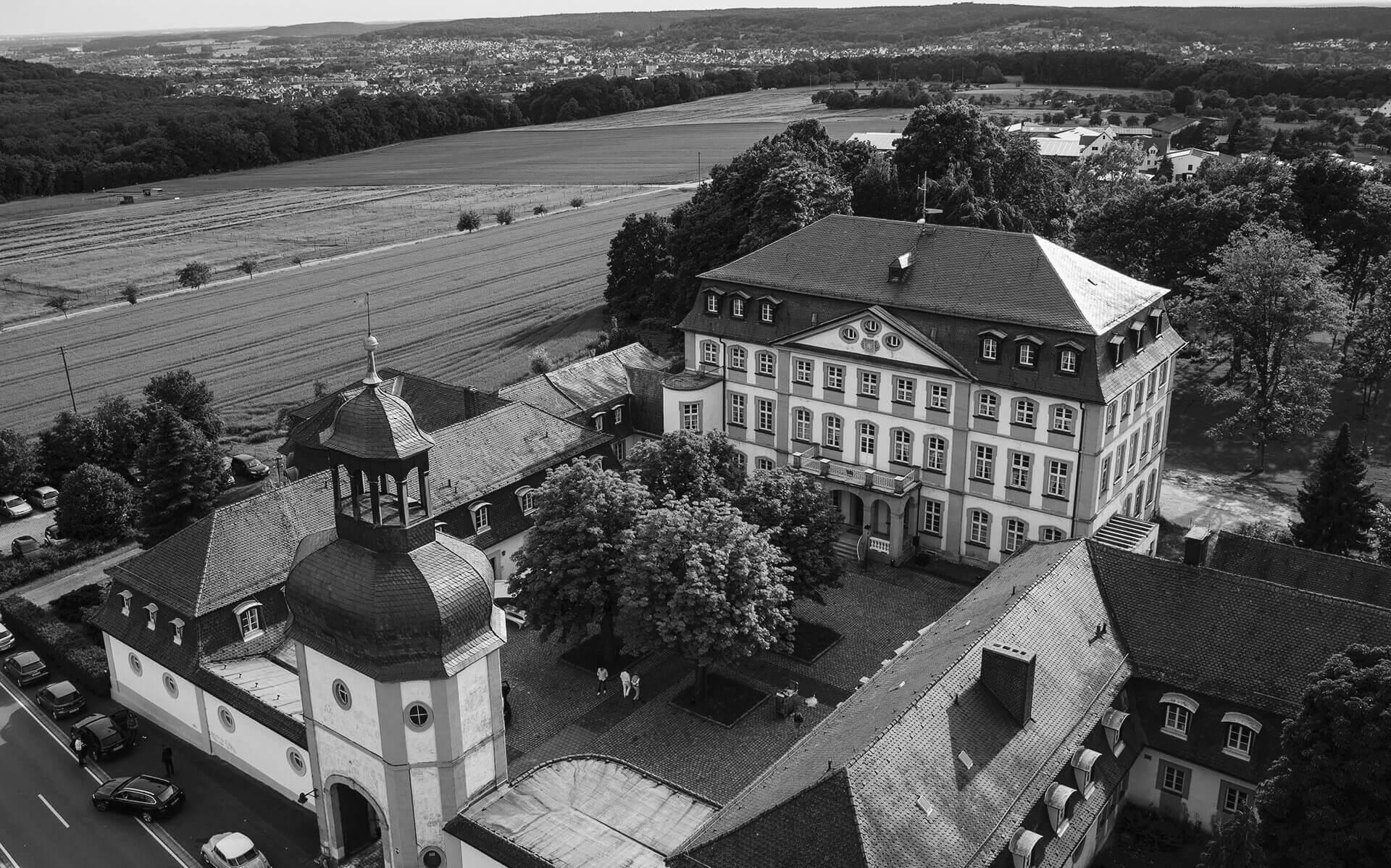 im Poloclub Schloss Jägersburg